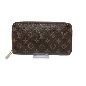 Auth Louis Vuitton Monogram Zippy Organizer Wallet